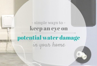 Simple Ways To Keep An Eye On Potential Water Damage In Your Home