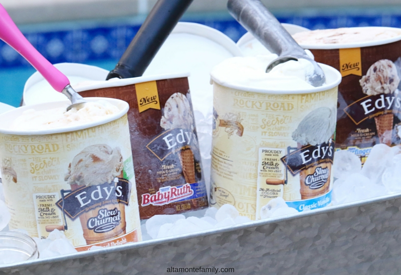 Ice Cream Summer Part Ideas by the Pool