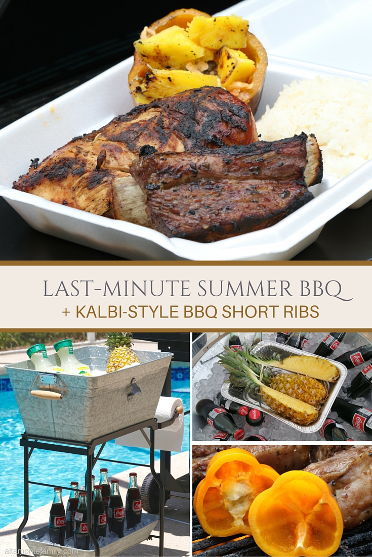 Last-Minute Summer BBQ Ideas - Kalbi Grilled Short Ribs