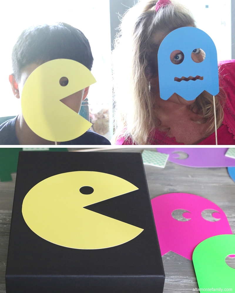 Pacman Party Ideas - Retro Game Night Craft Activities