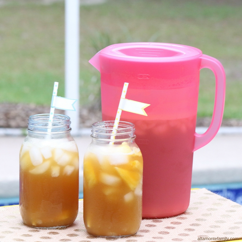 Pineapple Peach Iced Tea Recipe