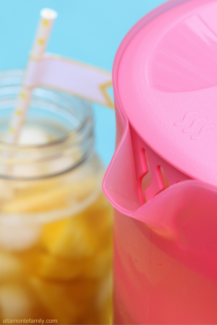 Pineapple Peach Iced Tea - Summer Drink Ideas - Poolside BBQ