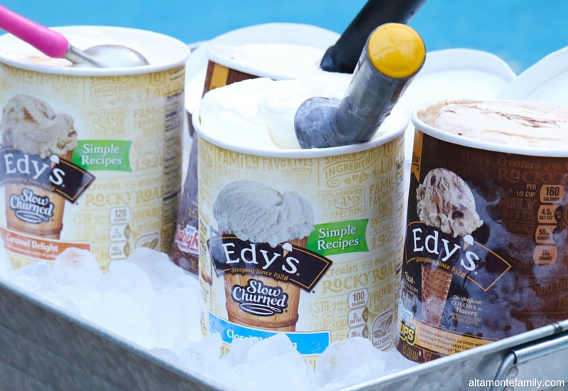 Pool Party Ideas - Ice Cream Station