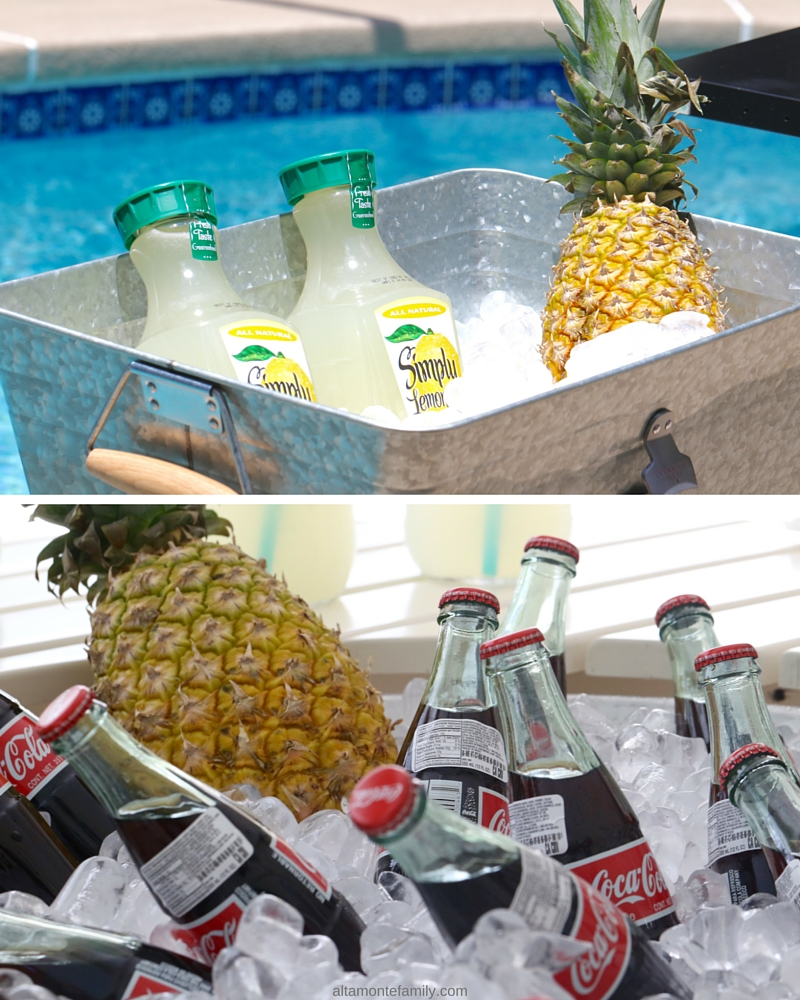 Pool Party Refreshment Ideas
