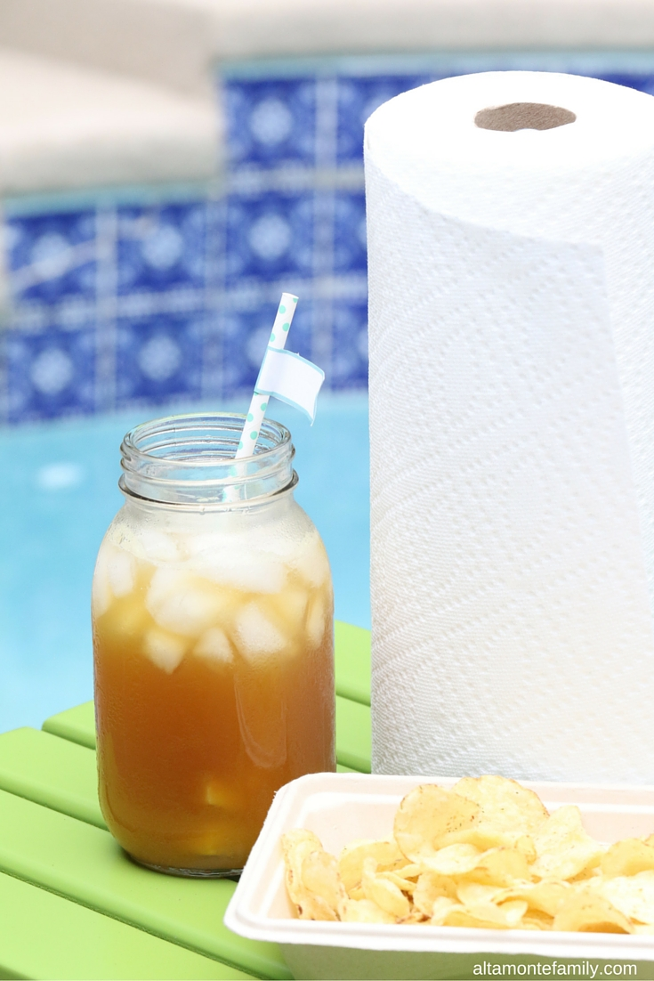 Poolside BBQ Party Tips - Summer Drink Ideas