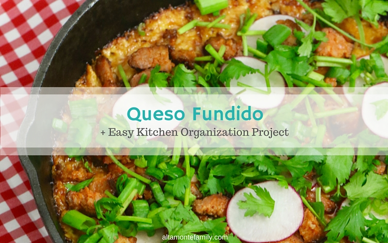 Ultimate Queso Fundido + Easy Kitchen Project