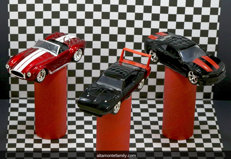 Kids Race Car Dream Garage With Remote Control Lighting