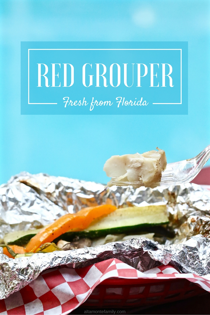 Red Grouper Fresh From Florida