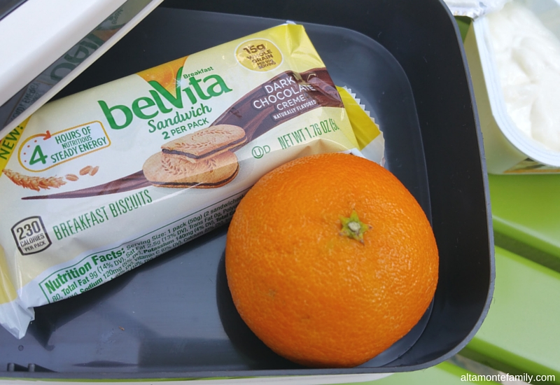 Road Trip Snack Ideas - belVita Breakfast Sandwiches