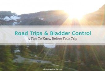 On Road Trips & Bladder Control