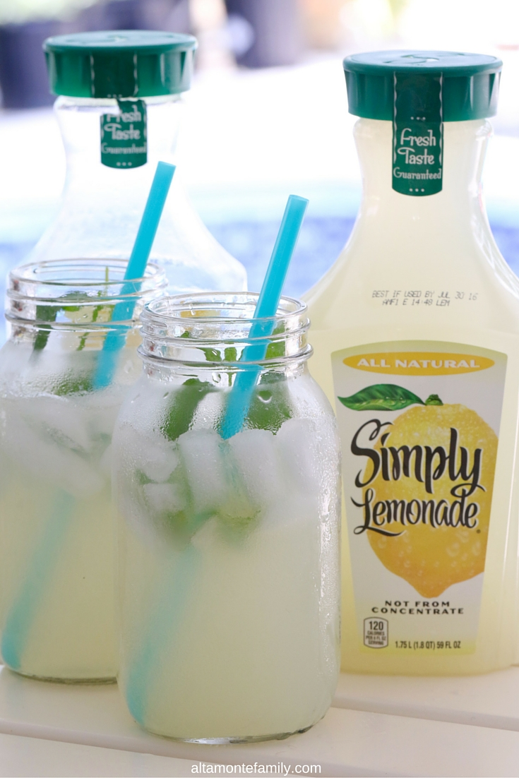 Simply Lemonade - Summer BBQ Party Ideas