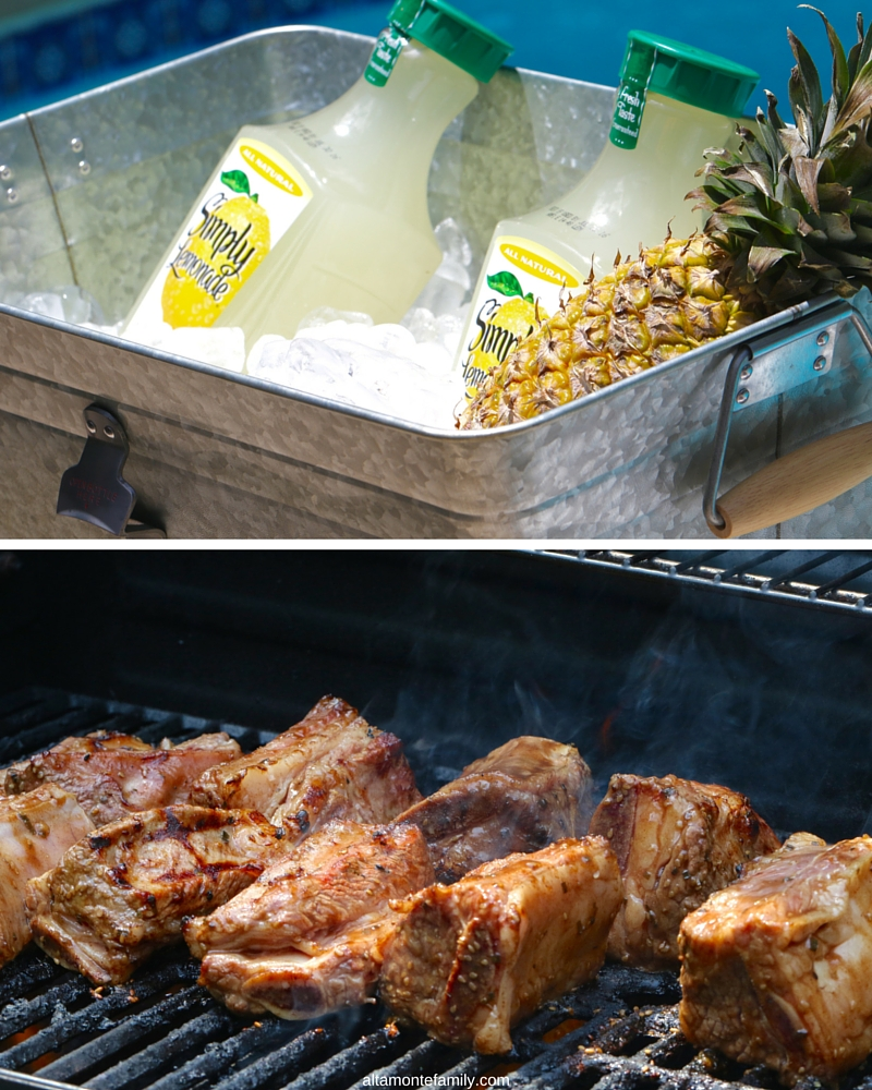Summer Entertaining Ideas - Grilled BBQ Short Ribs