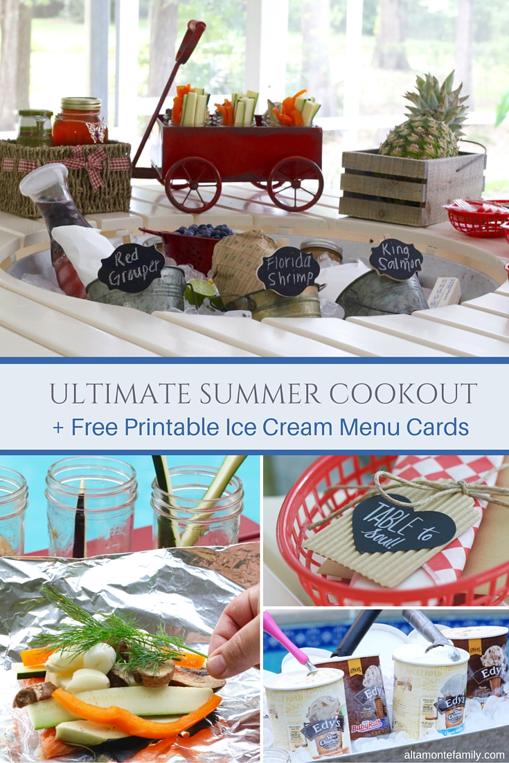 Ultimate Summer Cookout Party Ideas Printables