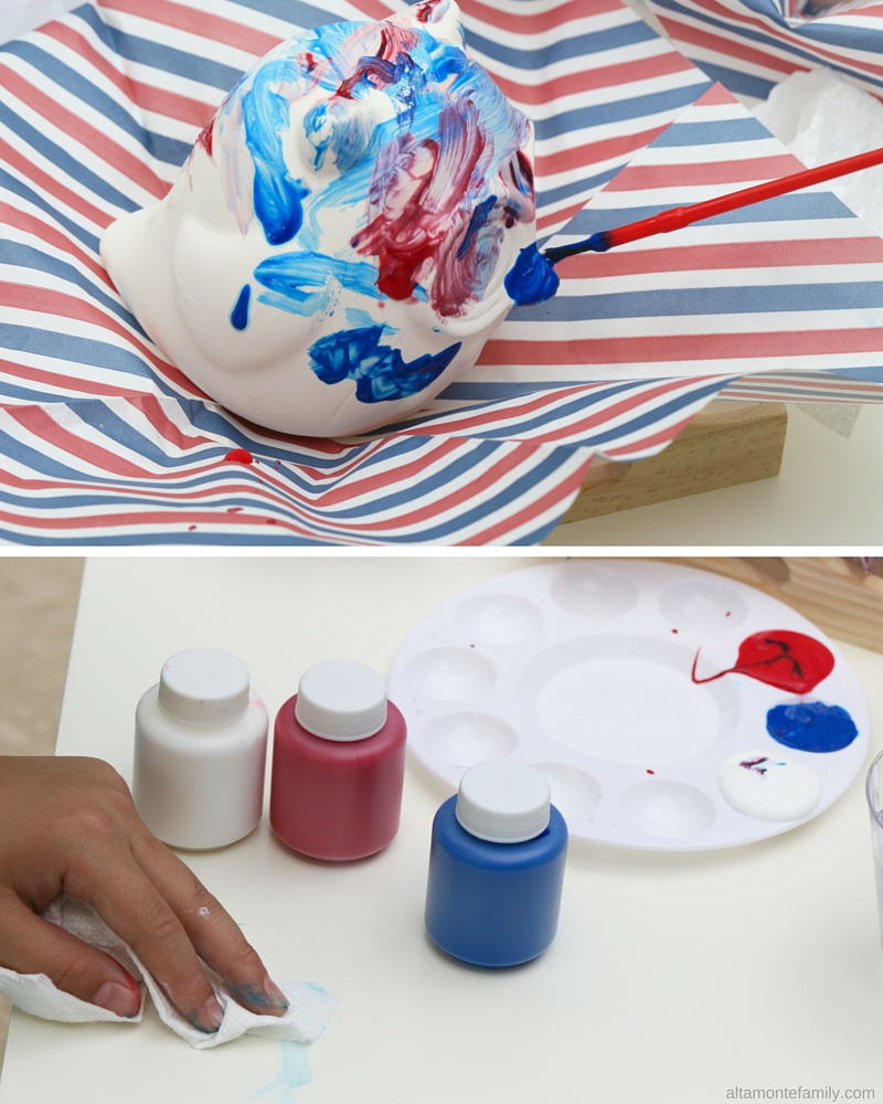 4th of July party activities - ceramic painting ideas