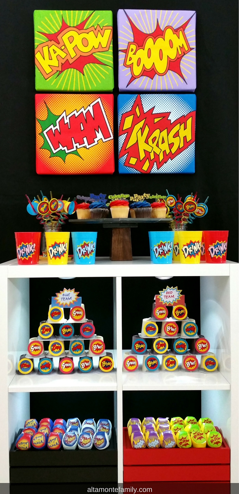 Back To School Superhero Party Ideas and Decorations