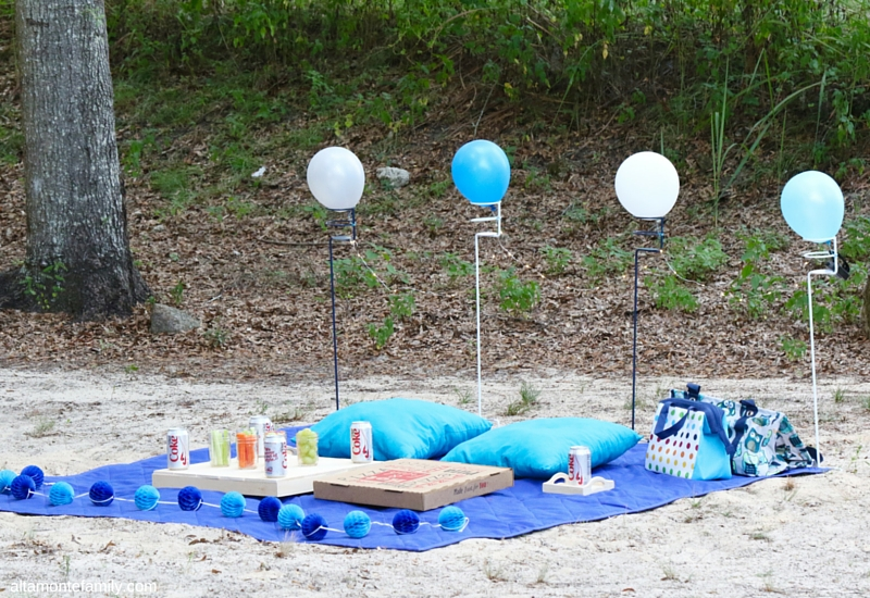 Birthday Picnic On The Road Ideas