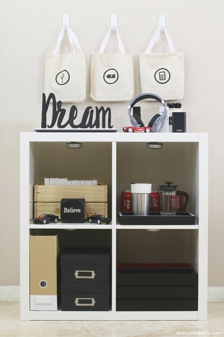 College Dorm Room Command Center Ideas