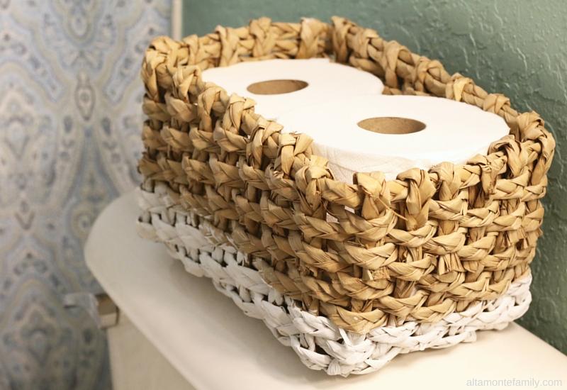 Milk Paint Project Ideas Diy Toilet Paper Storage Basket