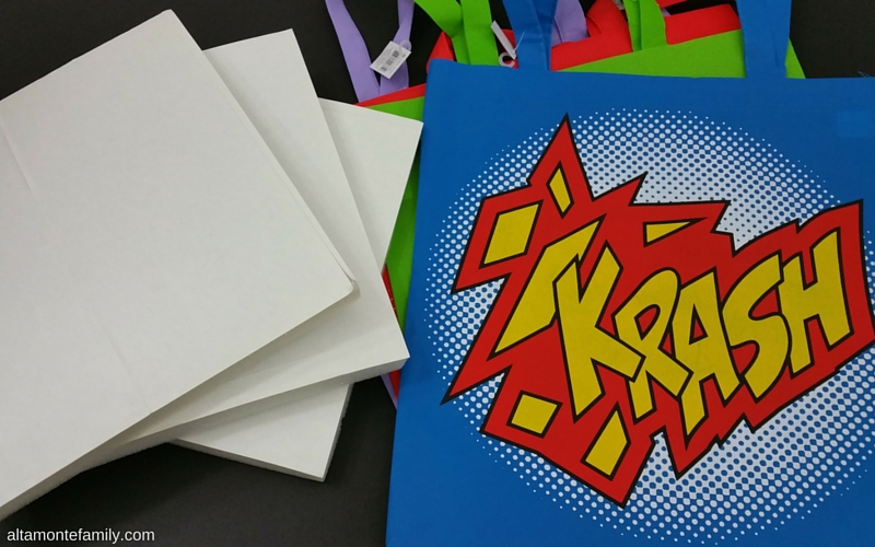 DIY Superhero Wall Decor | Altamonte Family