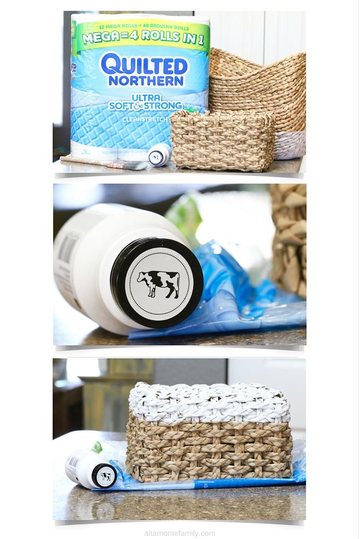 DIY Toilet Paper Storage Ideas - Milk Paint Crafts