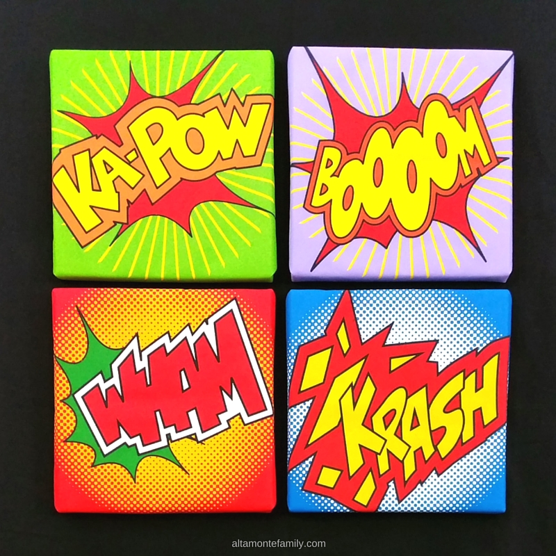Foamology Wall Art Ideas - DIY Superhero Decorations