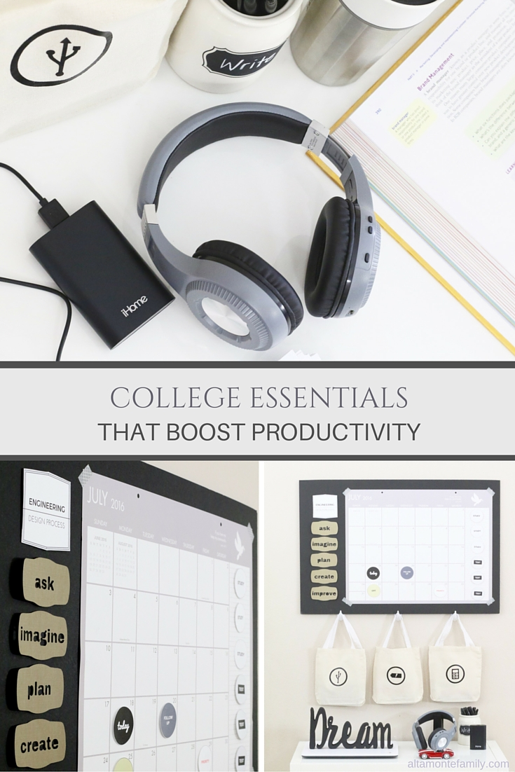 How To Be Productive In College