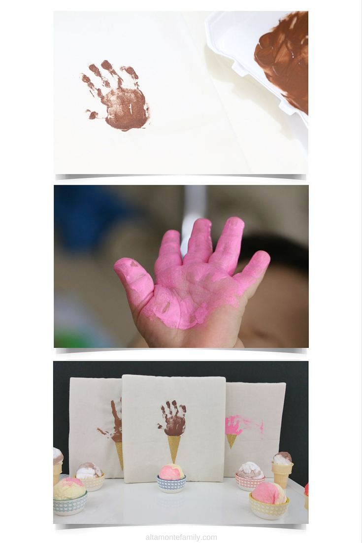 Kids Handprint Wall Art Ideas - Foamology