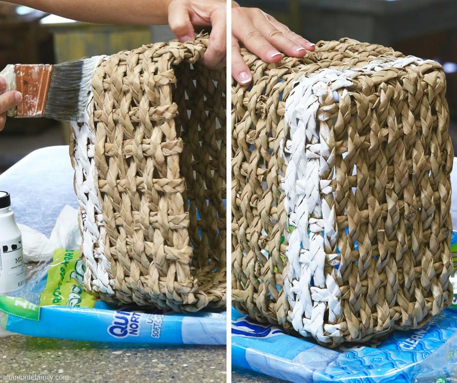 Milk Paint Crafts - How To Paint Basket