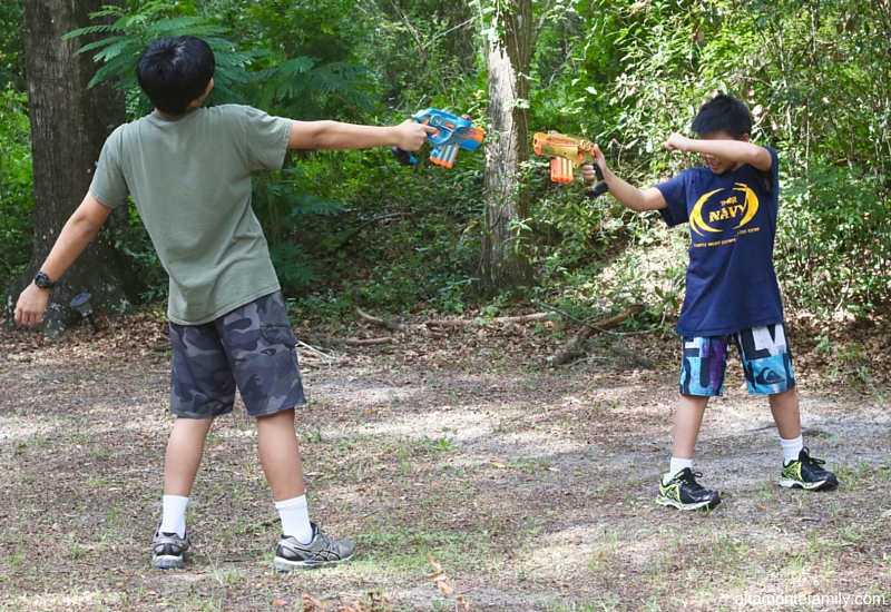 Outdoor Laser Tag - Backyard Activities for Kids