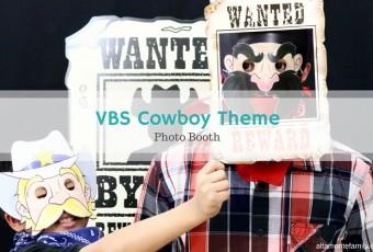 VBS Cowboy Photo Booth