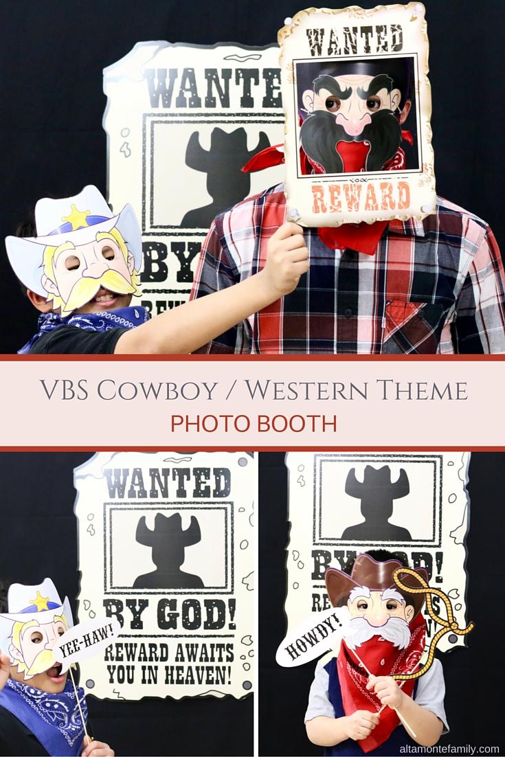 VBS Cowboy Photo Booth Ideas