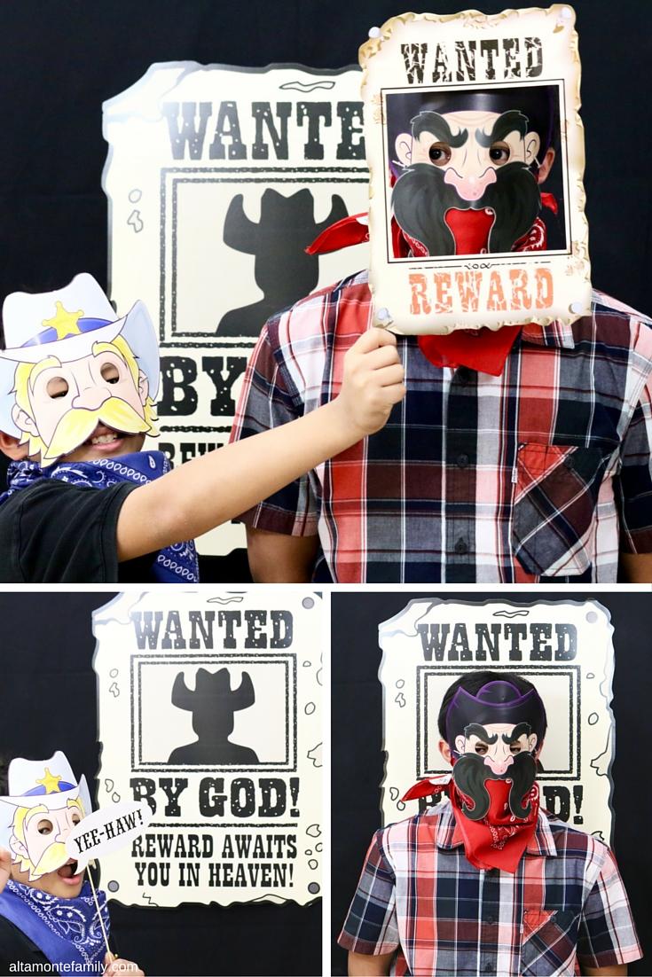 VBS Western Cowboy Theme Photo Booth Ideas
