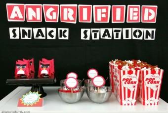 DIY Angry Birds Party Decor