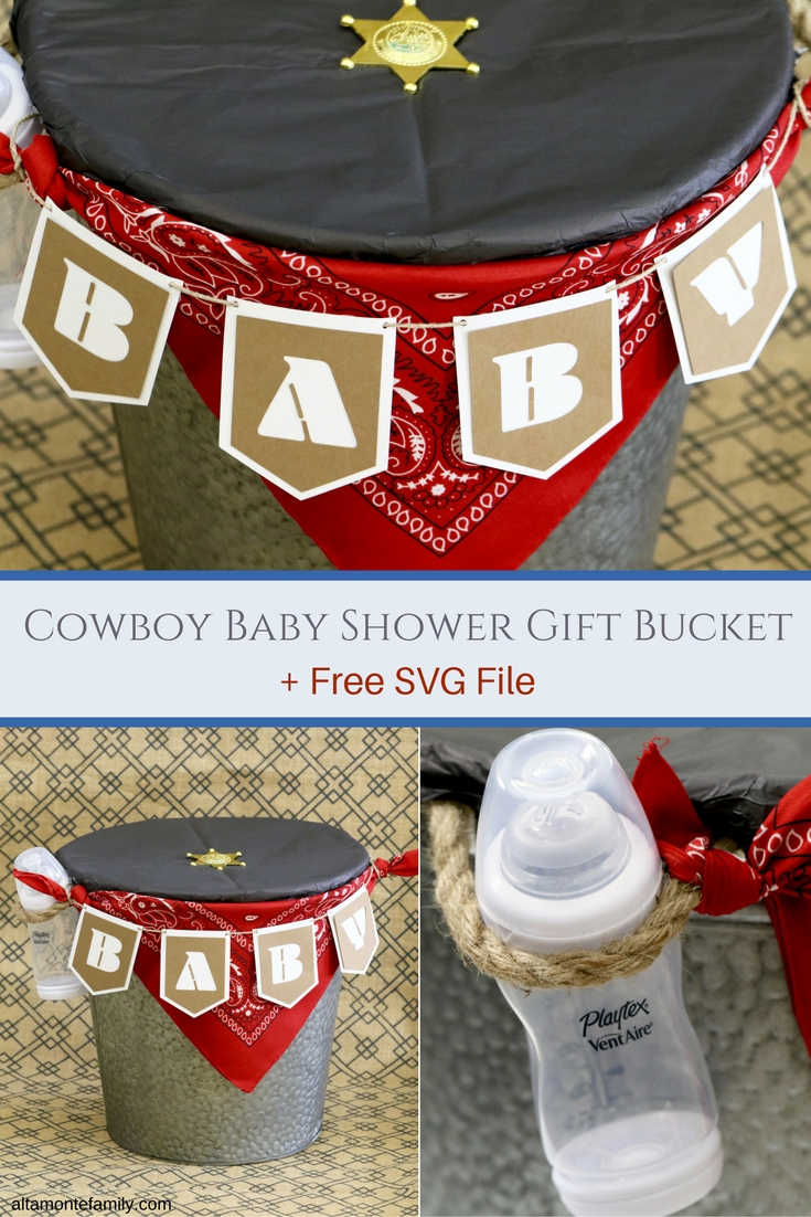 Baby Shower Gift Ideas For Dads - Free Cricut Explore SVG Cut File
