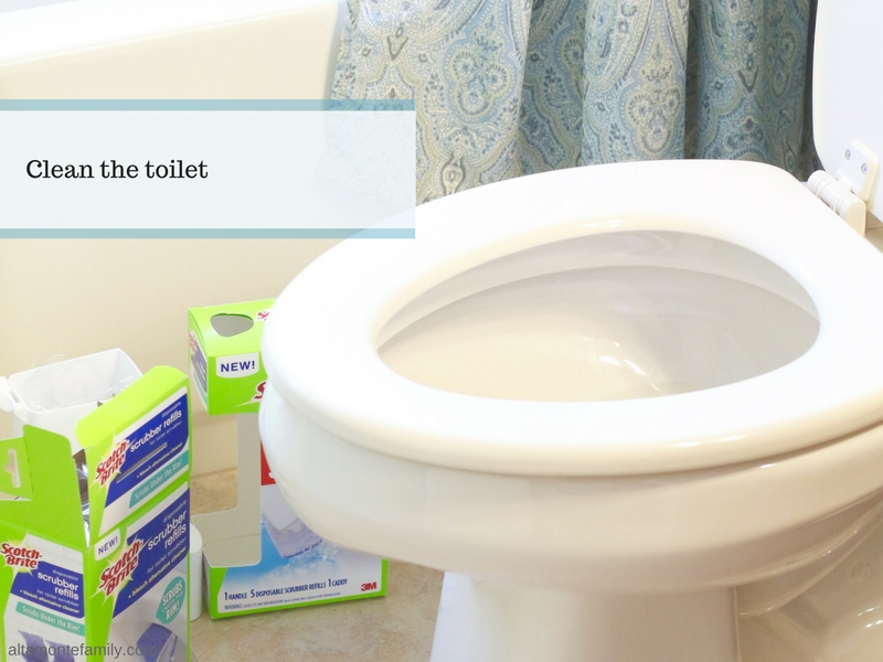How To Clean The Toilet Under The Rim