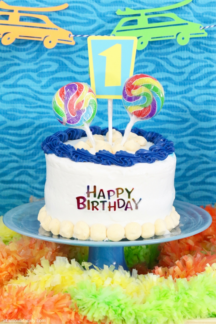 Birthday Party Ideas for Boys - Surfer Beach Theme