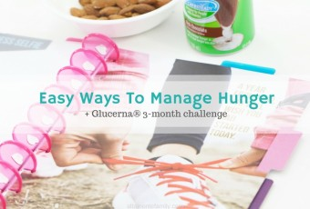 Easy Ways To Manage Hunger + Free Printable Blood Sugar Log