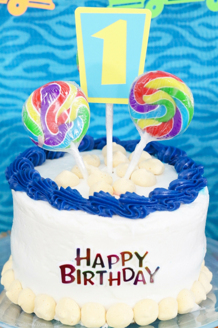 First Birthday Party Ideas for Boys - Surfer Beach Theme - Cricut Explore Projects