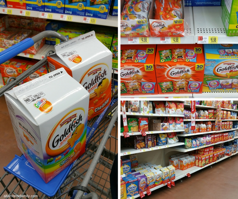 Goldfish Crackers In-Store Photo #MixMatchMunch