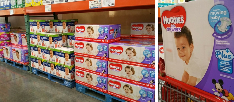 Huggies Little Movers Plus at Costco