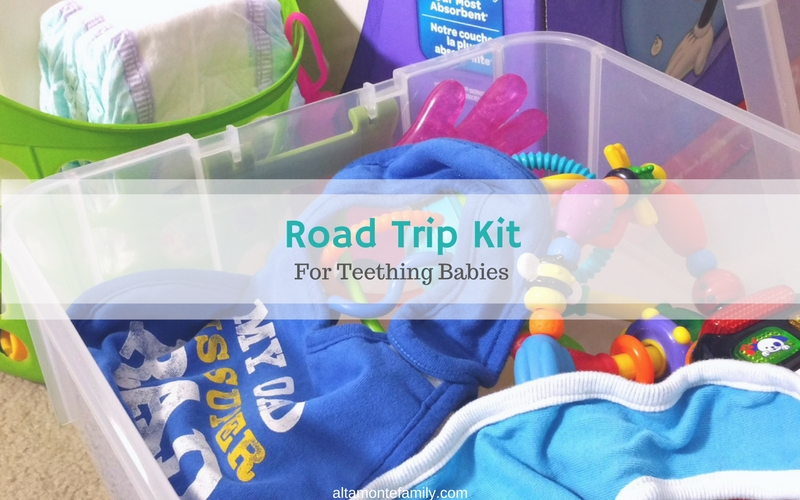 Road Trip Essentials For Teething Babies