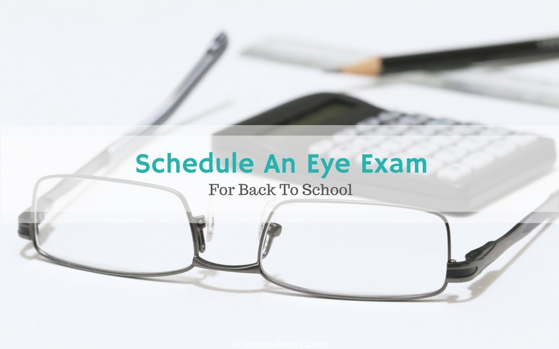 Schedule An Eye Exam For Kids For Back To School - Think About Your Eyes