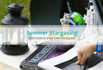 Summer Stargazing With Kids In Your Own Backyard
