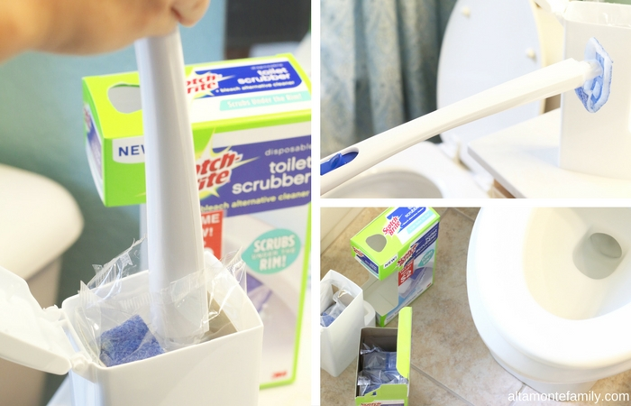 Toilet Bowl Cleaning Tips Under The Rim - Guest Bathroom