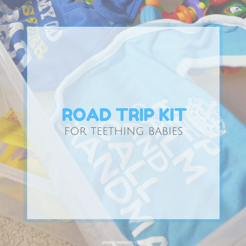 What To Pack For Teething Babies During Travel - Road Trip Planning