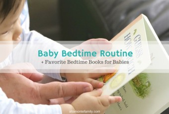 Baby Bedtime Routine Essentials