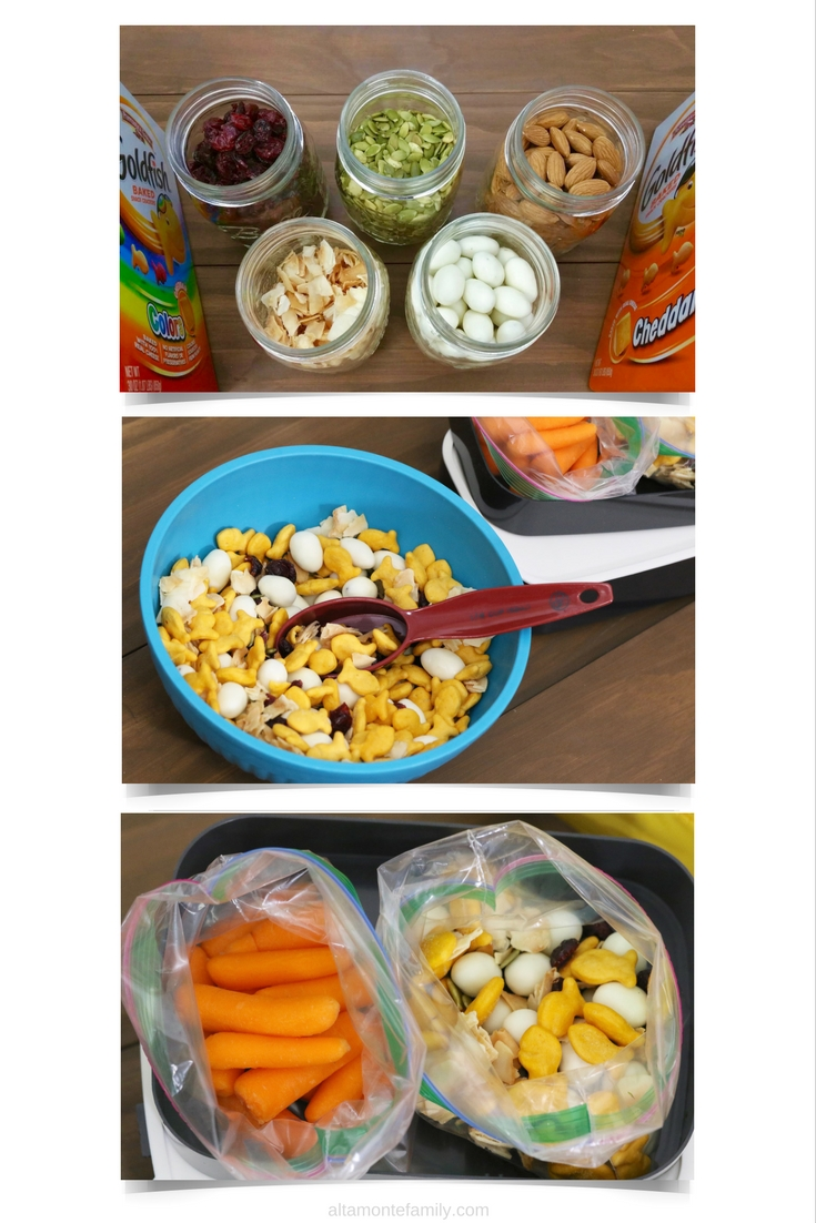 Back To School Snack Ideas - Goldfish Crackers Recipe