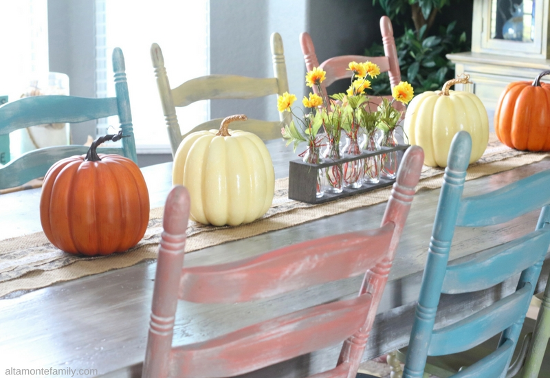 Fall Tablescape and Centerpiece Ideas with Mason Jars