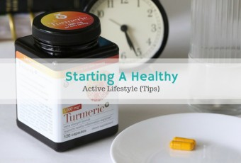 Starting a Healthy Active Lifestyle {Tips}