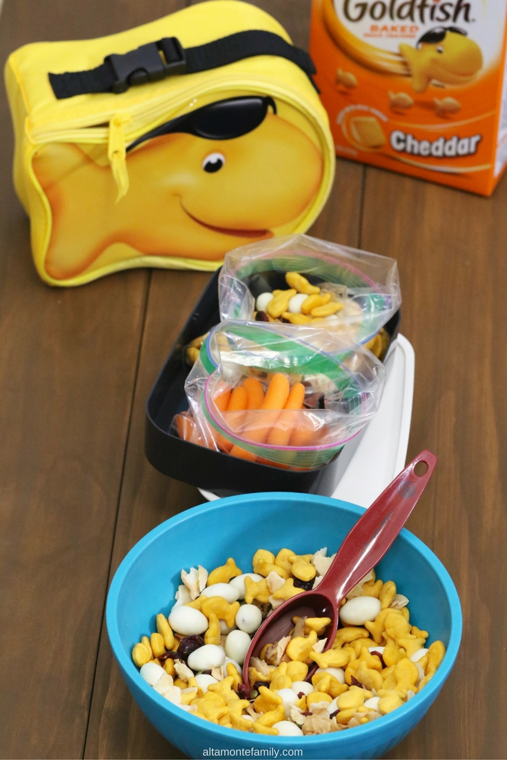 Snack Ideas - School Lunchbox - Goldfish Crackers Recipe